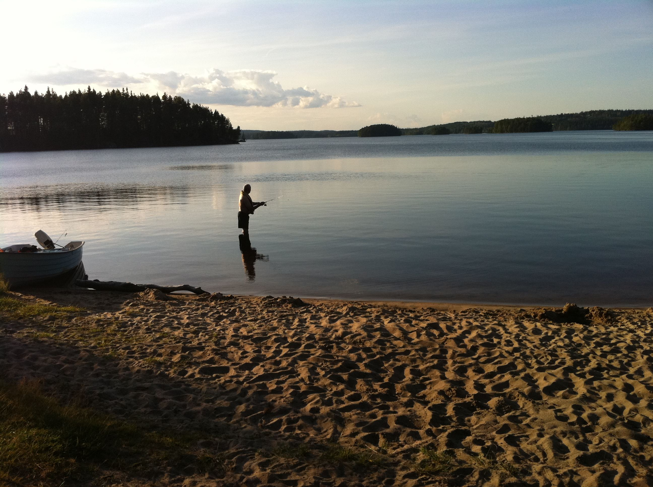 © Gislaveds kommun, Fishing in Gislaved area
