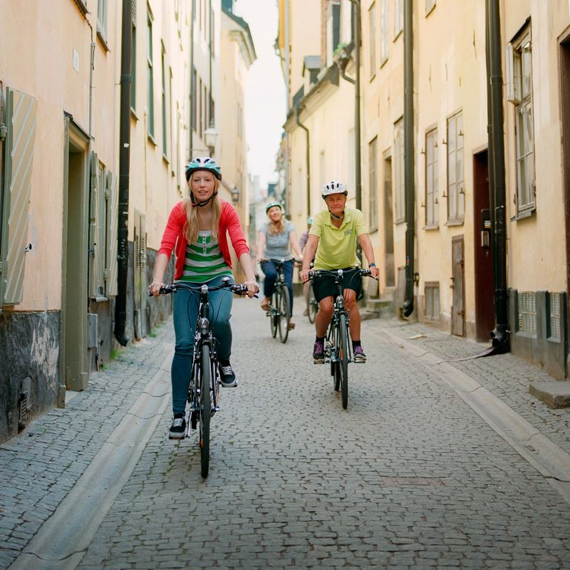 Rent a bike with Bike Sweden