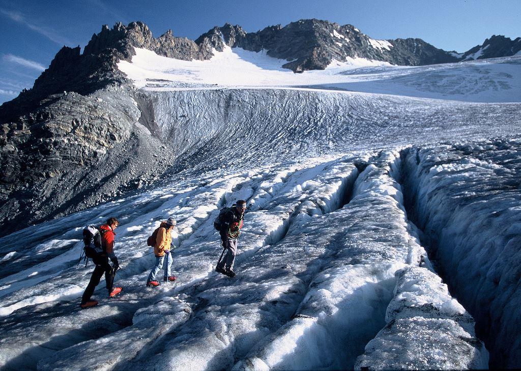 Randonnée glaciaire initiation