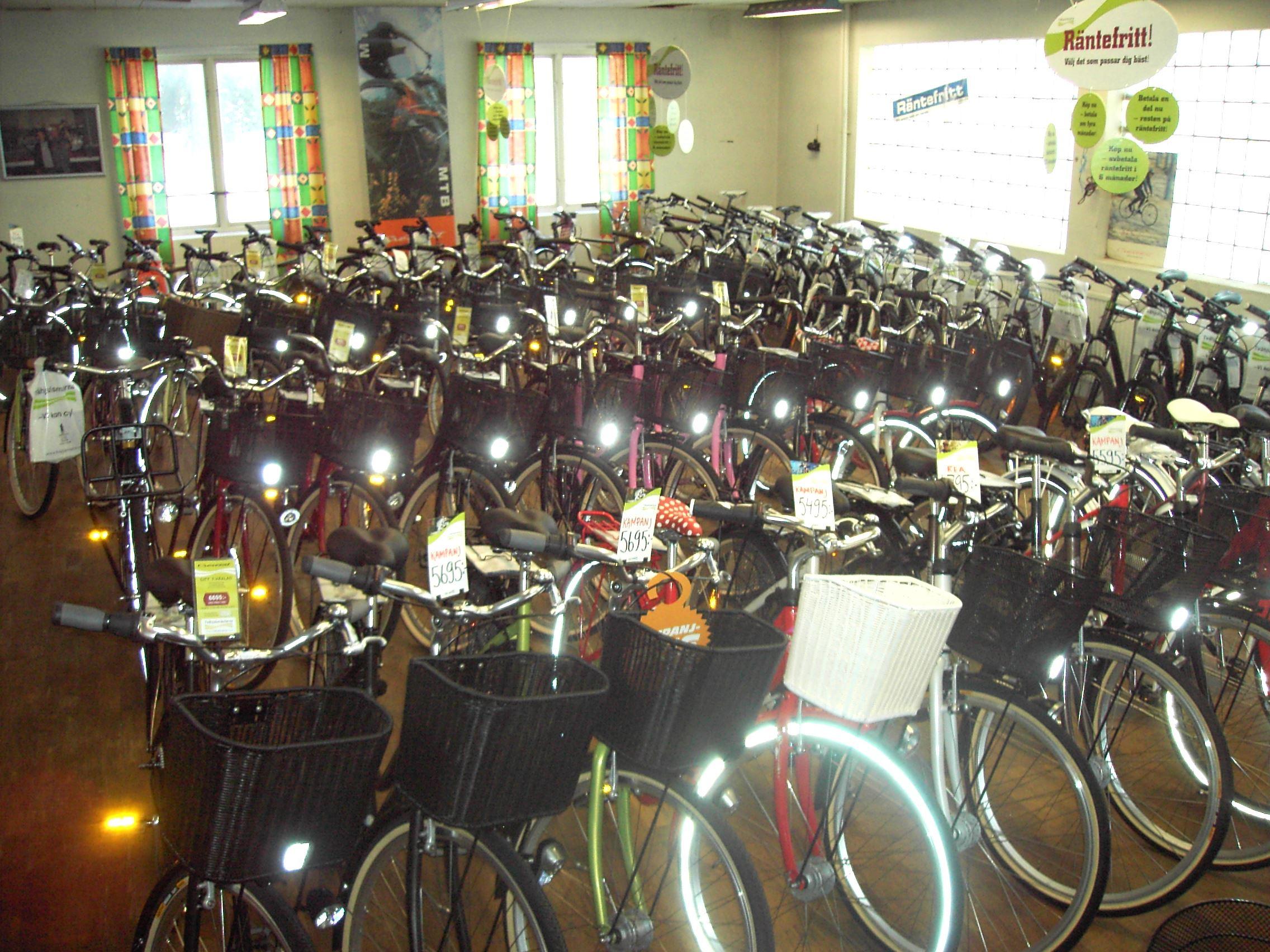 Cykeluthyrning - Connys Cykel & Motor