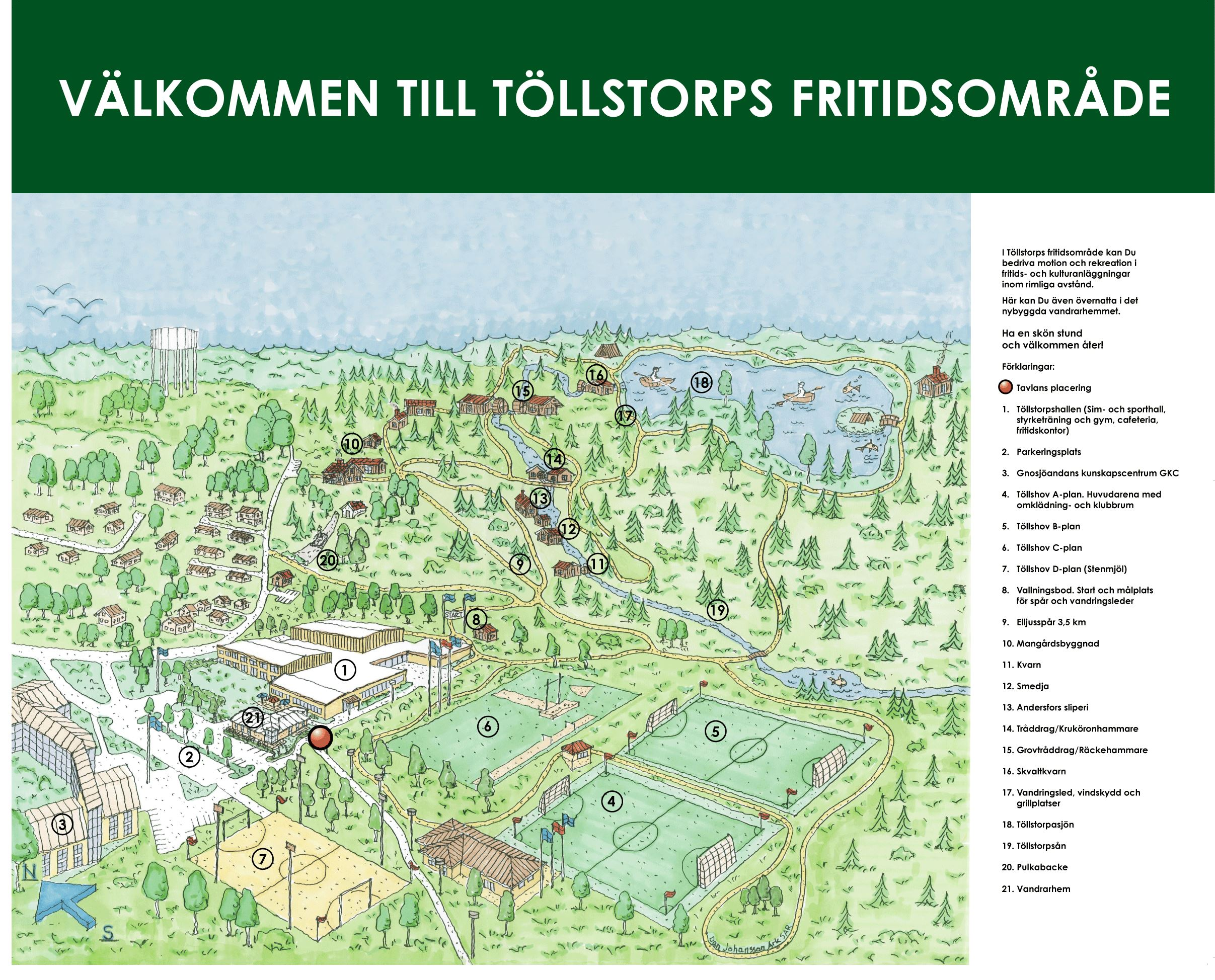 Töllstorp Friluftsområde - Recreational Center