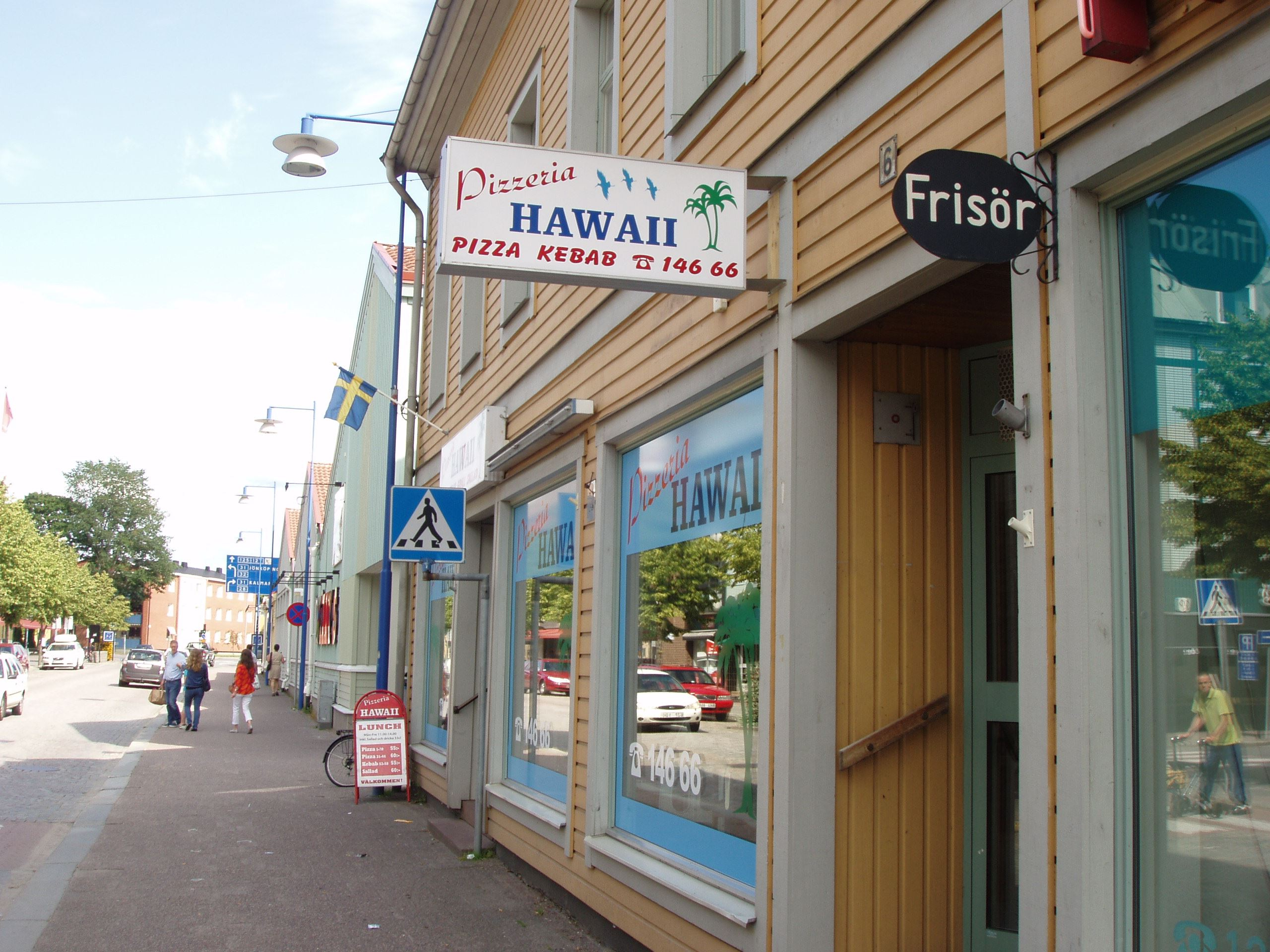 © Vetlanda Turistbyrå, Pizzeria Hawaii