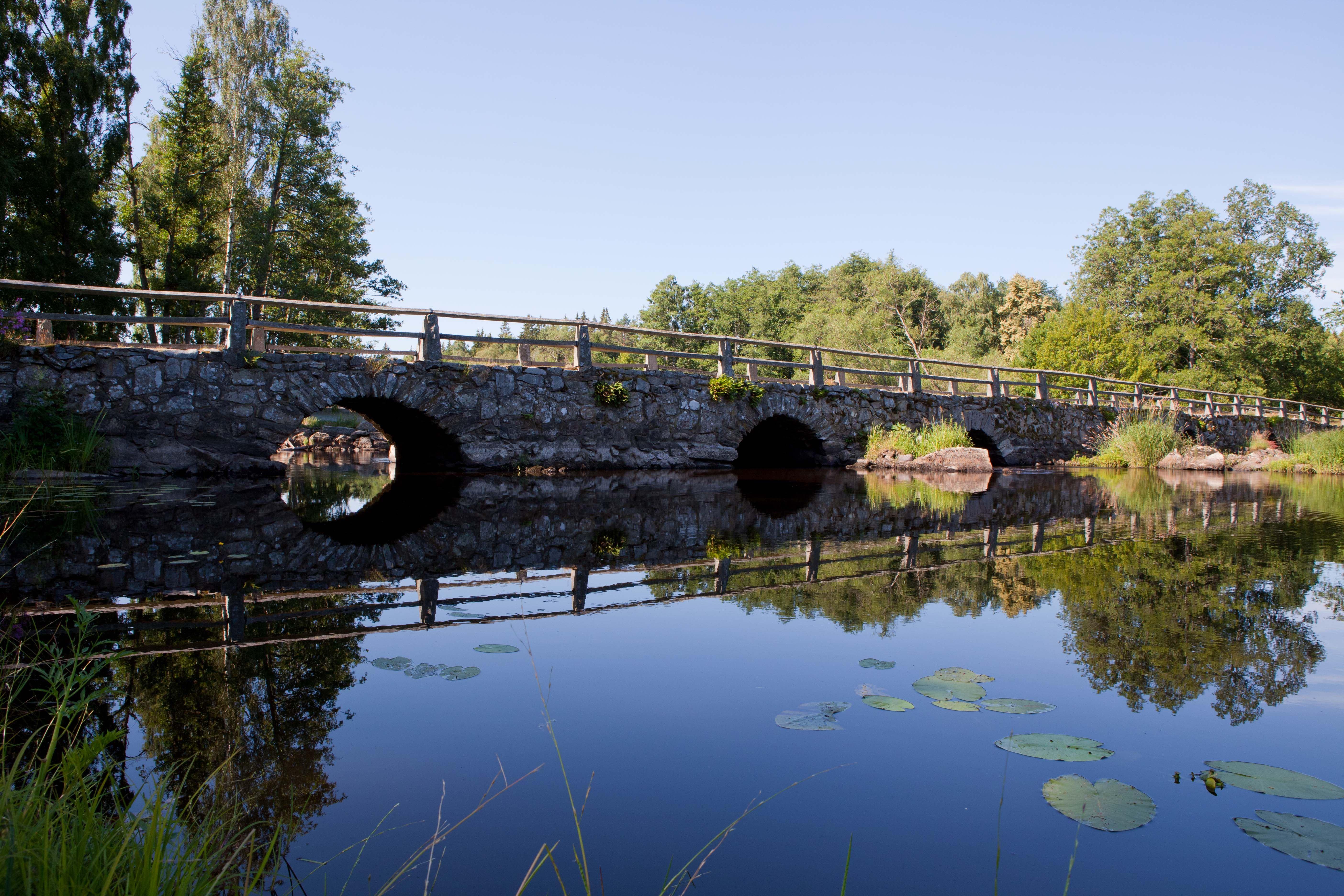 PeKa Foto, Peter Karlsson,  © Tingsryds kommun, Blidingsholmer Brücke