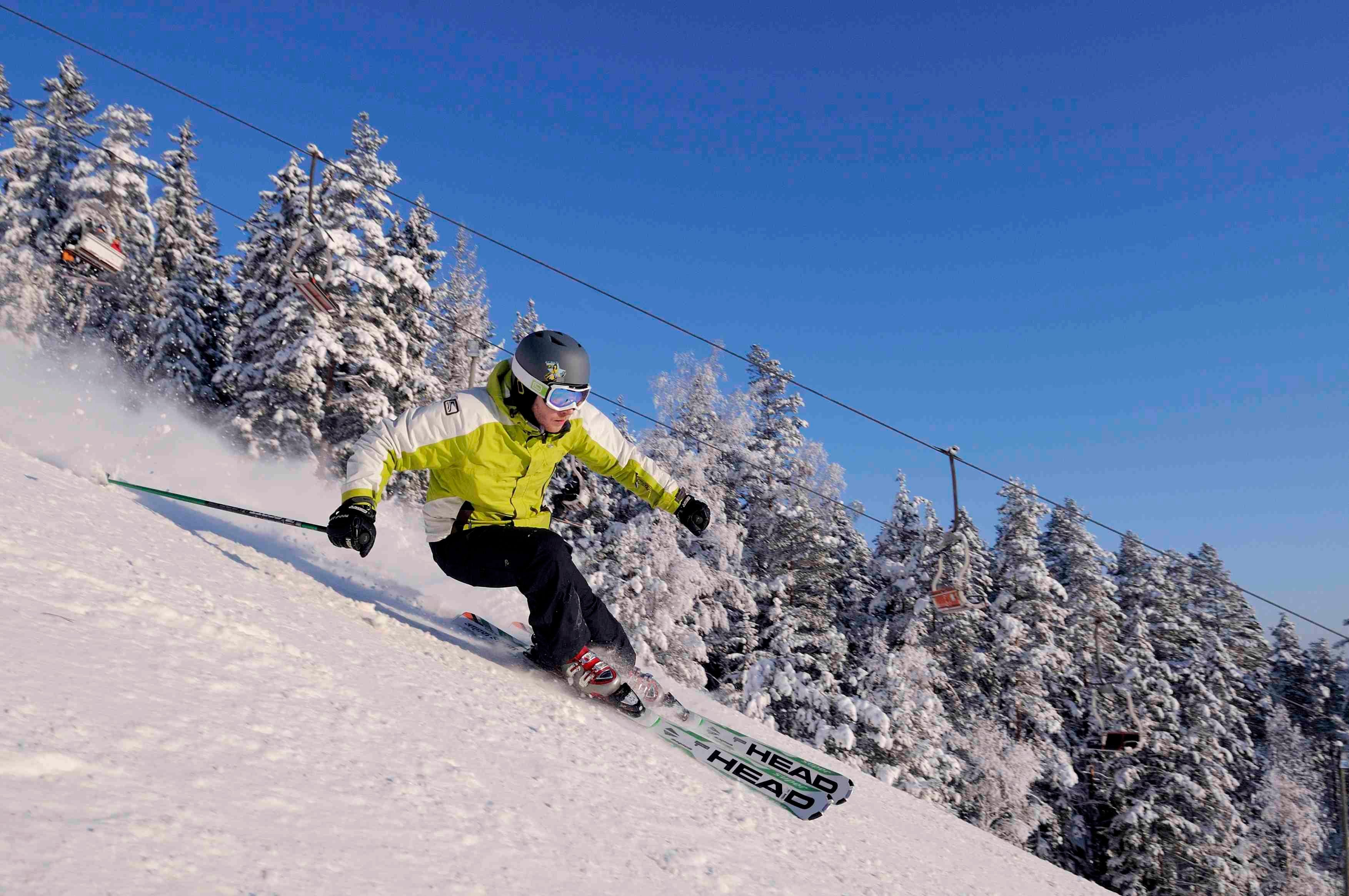 Isaberg,  © Isaberg, Skiing Isaberg