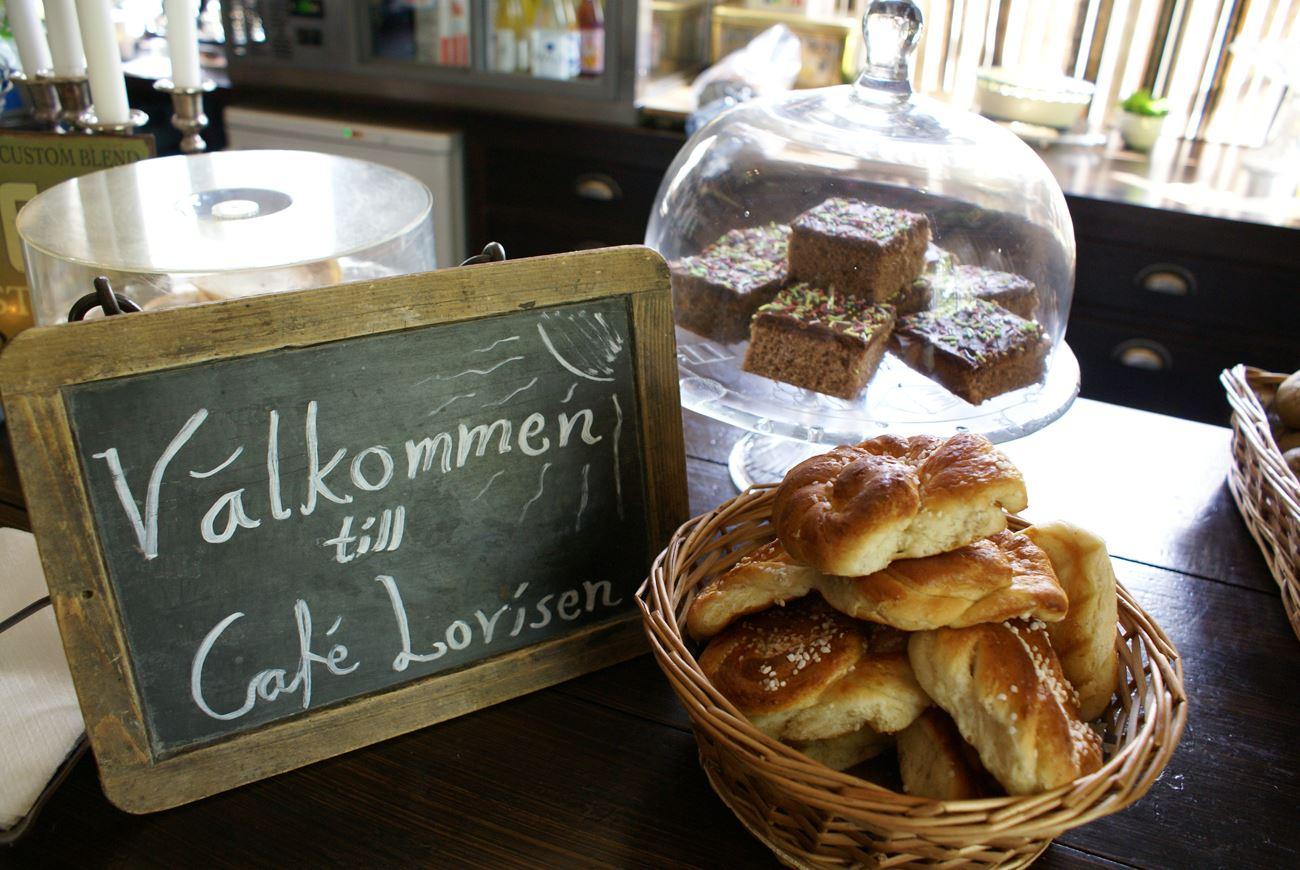 © Café Lovisen, Hembakat fikabröd