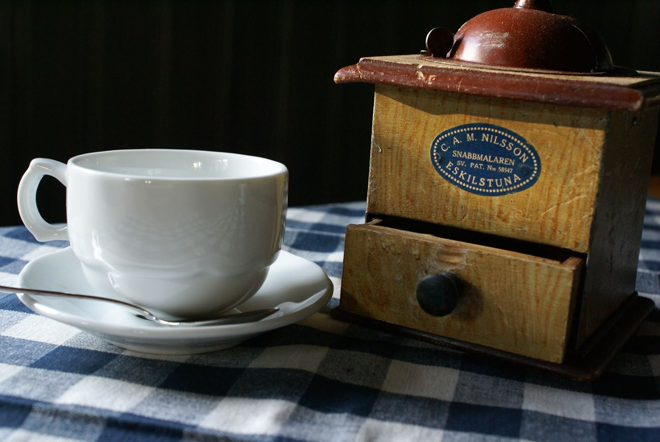 © Café Lovisen, Kaffe kvarn