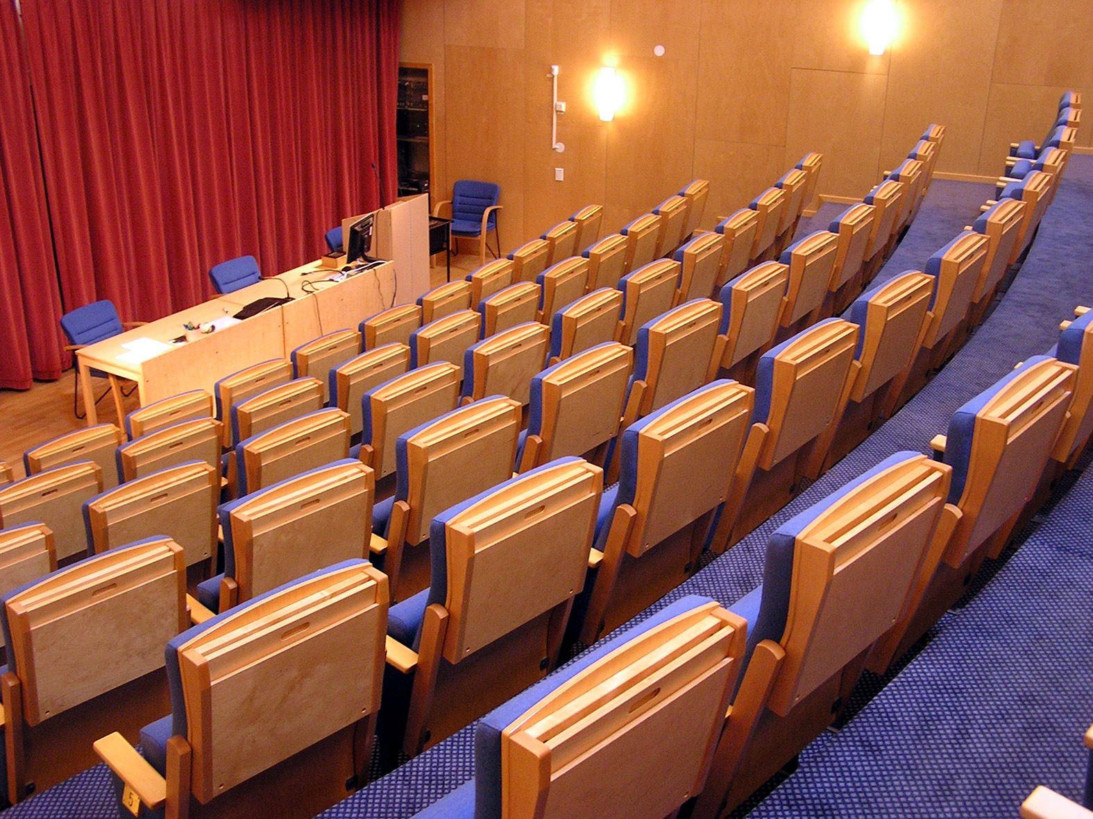 Hörsalen Järnvägens Museum