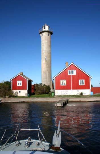 Die Leuchtturminsel Garpens Fyr
