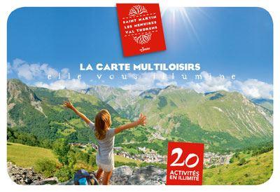 Cartes Multiloisirs, plus de 20 activités à volonté cet été!
