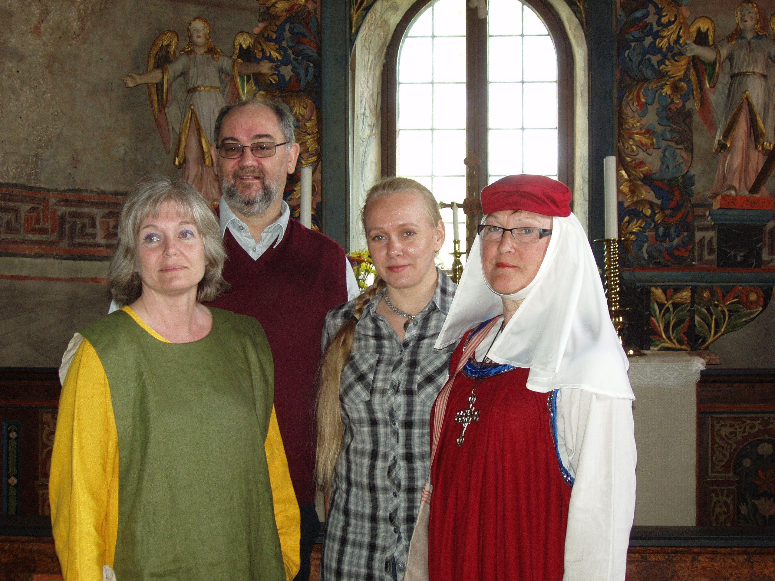 Natur, kultur & kyrkovandringar