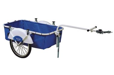 Bicycle cart with rain protection
