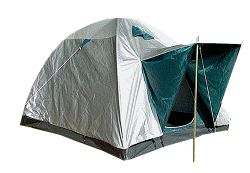 3-man tent with rain protection