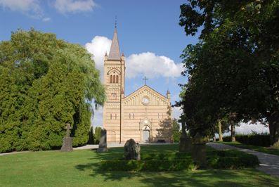 Borlunda church