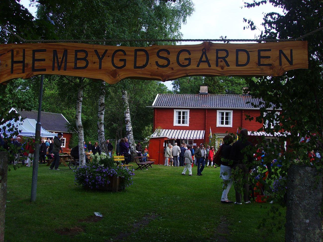 © Skede Hembygsgård, Skede Hembygdsgård och Hällaryds Kanal
