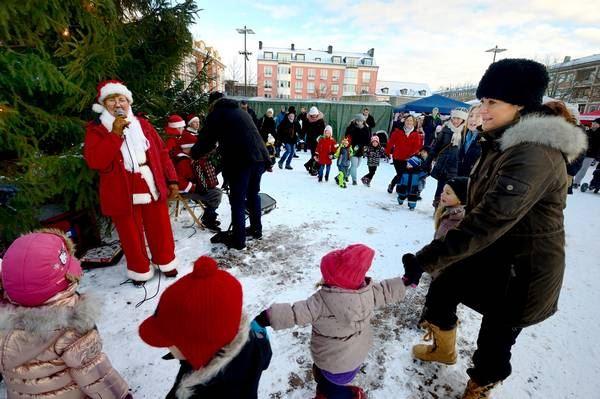 Julmarknad och skyltsöndag På Stan i Ängelholm