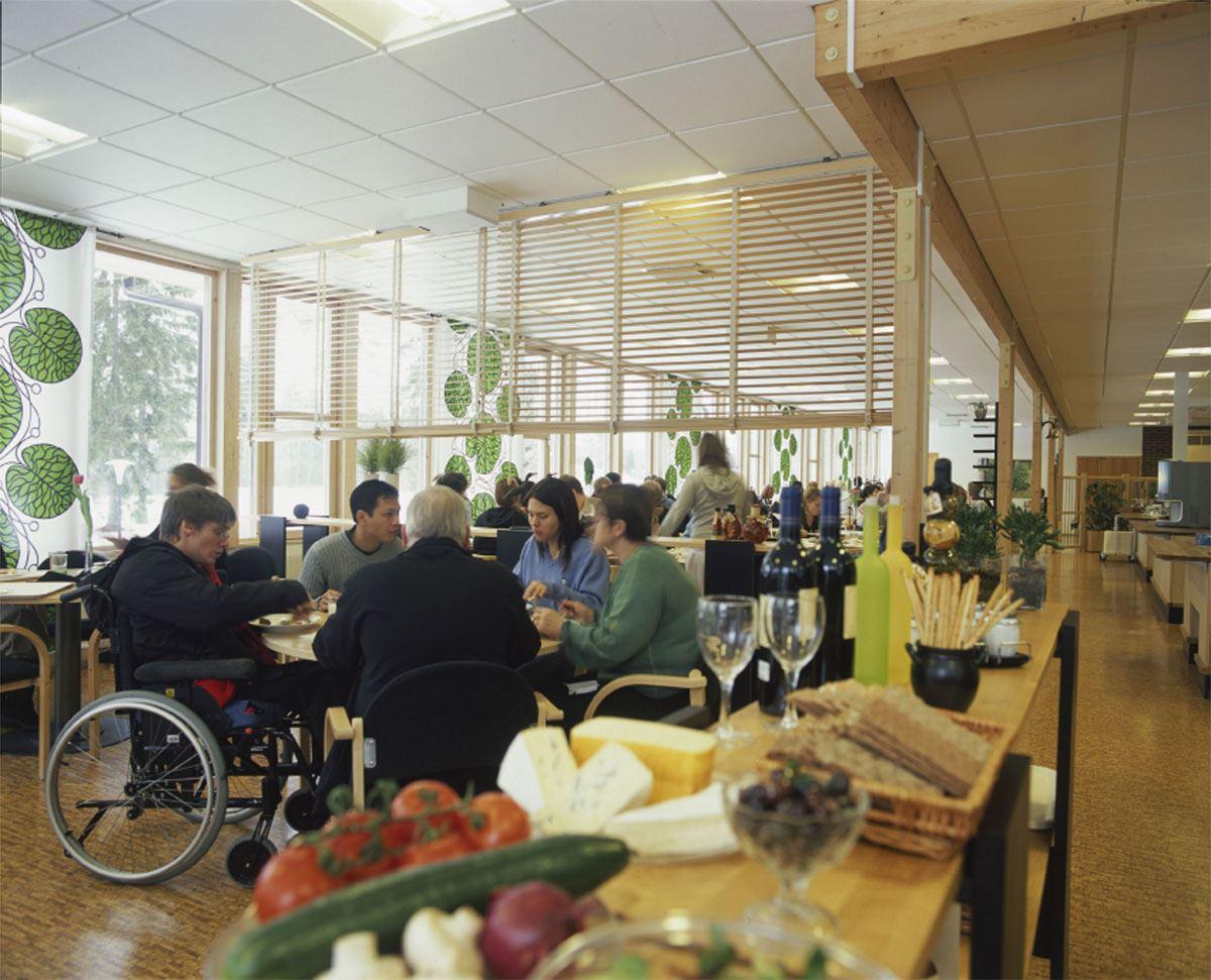 © Ädelfors folkhögskola, Restaurang