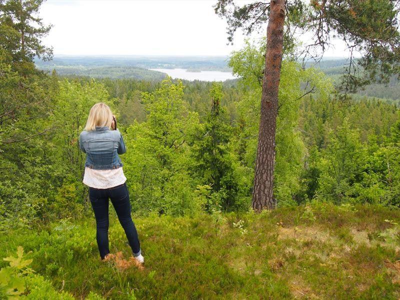 © Vetlanda turistbyrå, Oxhagsbergets Naturschutzgebiet