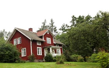 Hus i Munkaskog