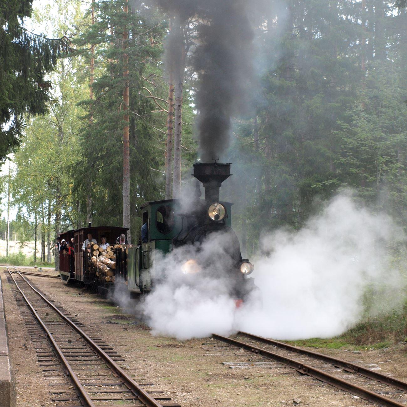 Värnamo Näringsliv AB,  © Värnamo Näringsliv AB, Ohsabanan museijärnväg