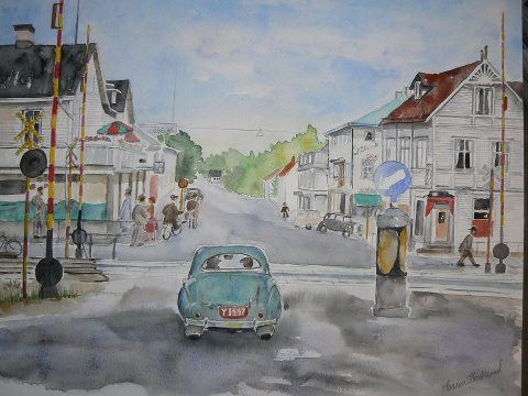 Akvarellmålning - Ateljé Orsta
