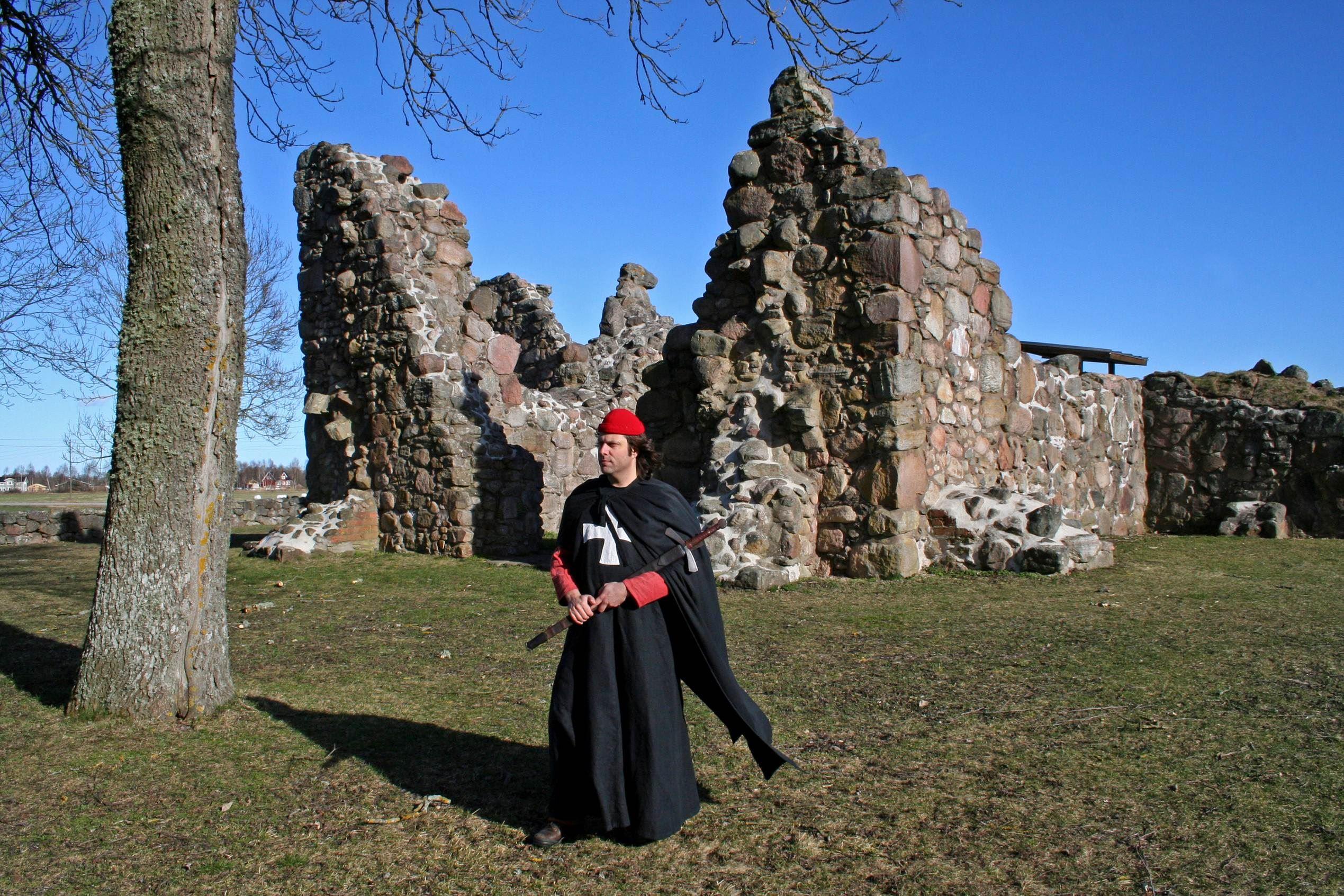 Klosterruine Kronobäck - ab ins Mittelalter.