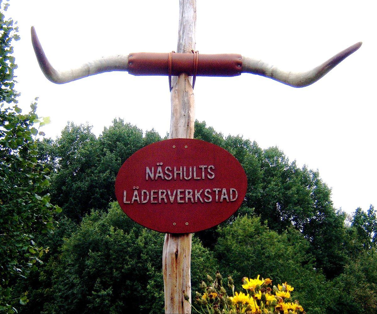 © Turistbyrån, Näshults Läderverkstad