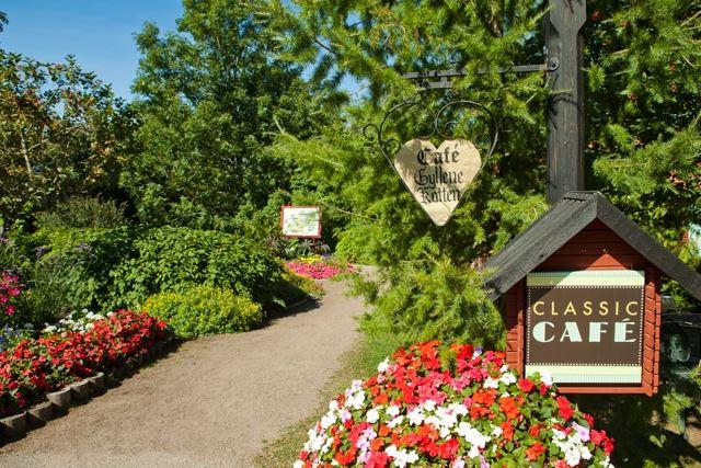 Furuviksparken,  © Furuviksparken, Alla upplevelser, mysiga möten med djuren och häftiga karusellturer sätter fart på hungern. I parken finns det restauranger och ett café. Där hittar ni barnens favoriter på menyn med ett brett utbud.