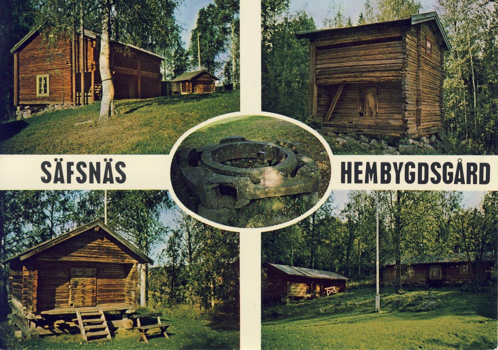 Vykort från Hembygdsgården.