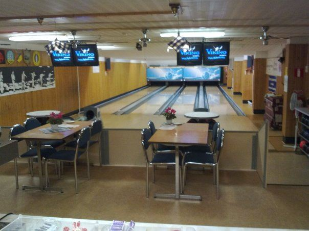 Bowlinghalle in Tyringe.