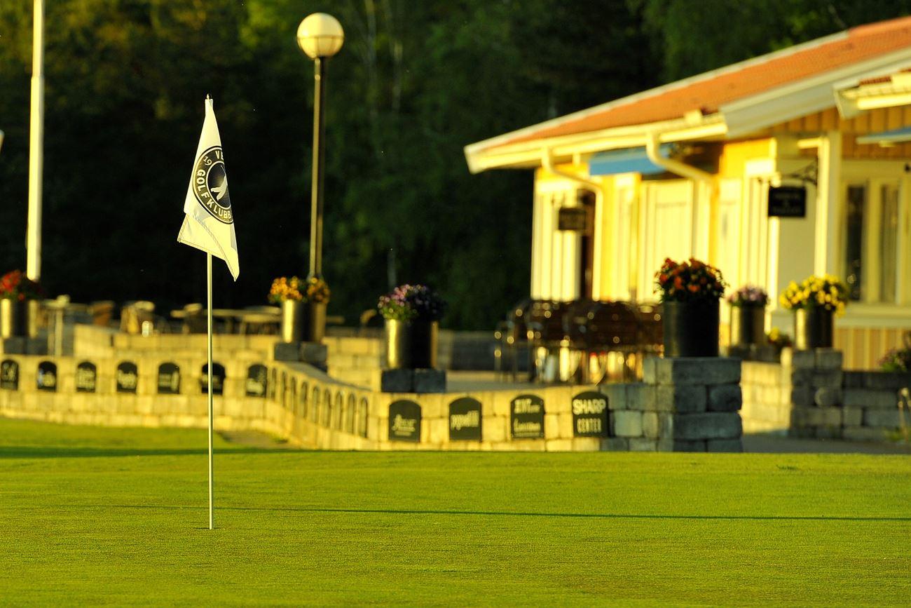 © Vetlanda Golfklubb, Golfrestaurangens terass