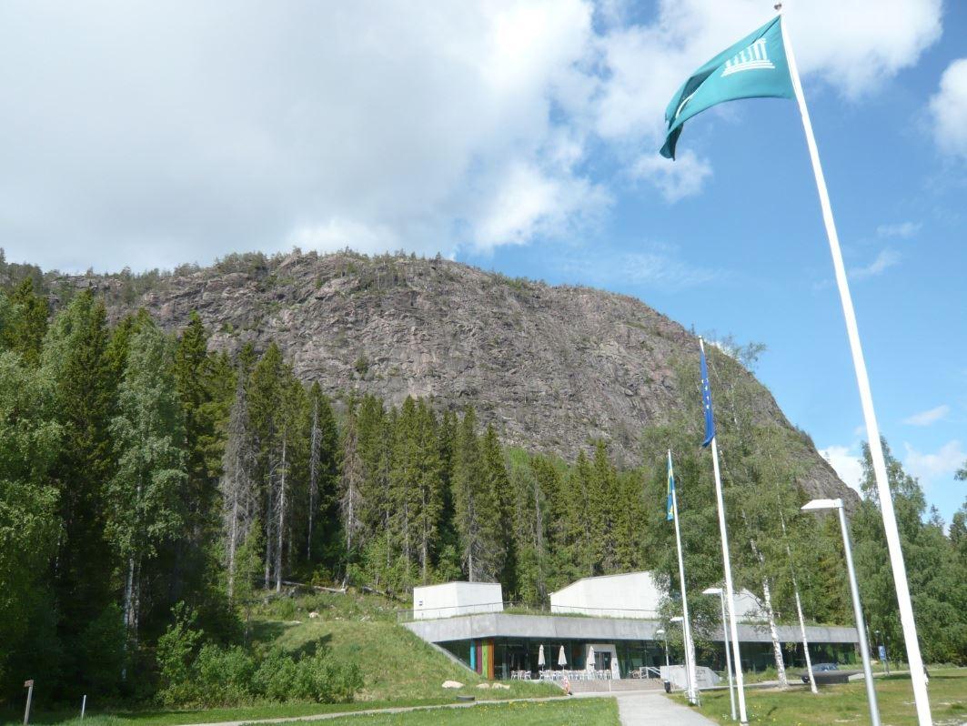 © Kramfors kommun, Skuleberget med Naturum