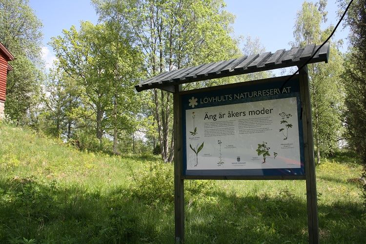 Lövhult's outdoor recreation area and nature reserve