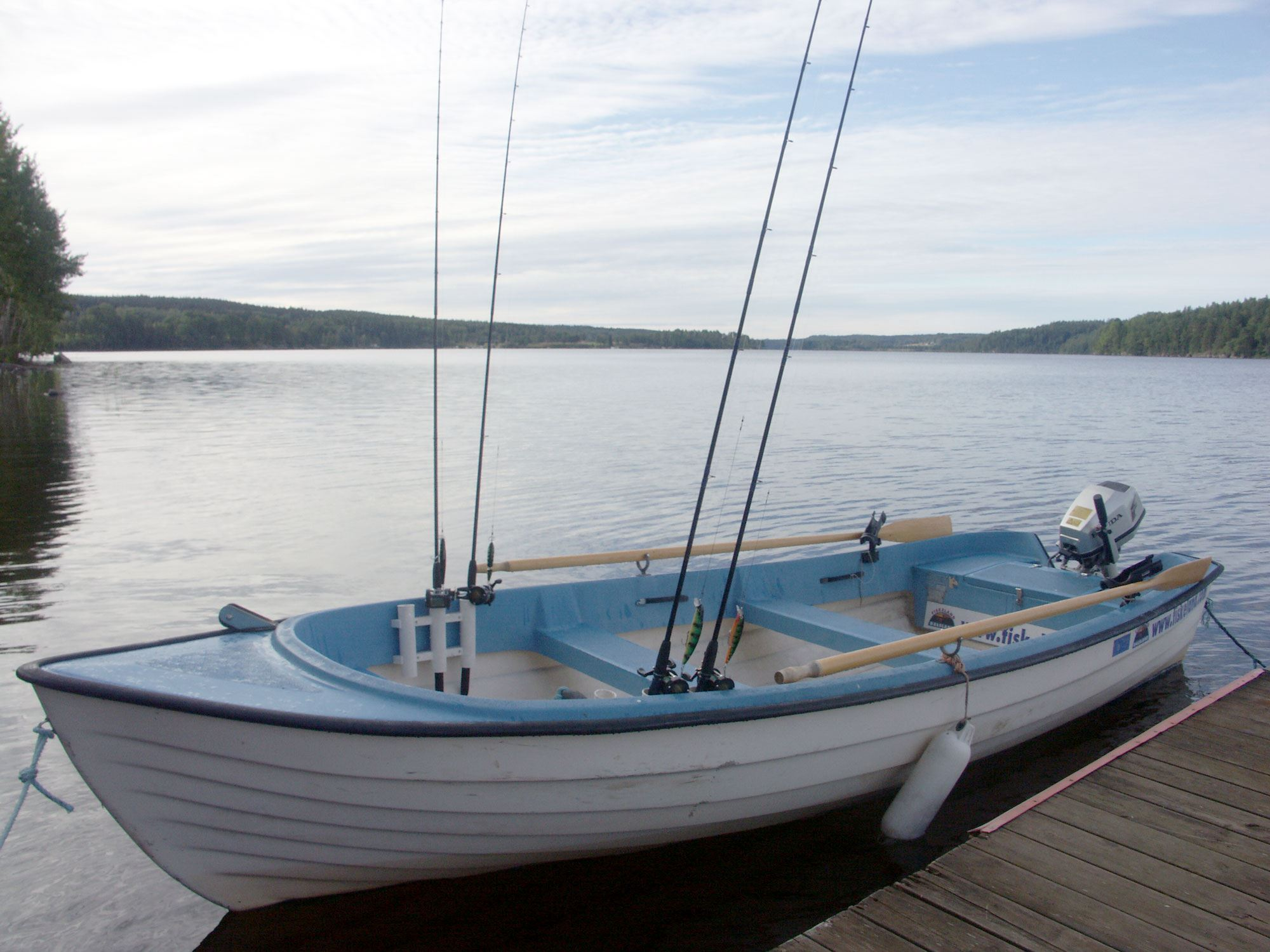 Tommy N.,  © T.N, One of DalslandFishing renting boats