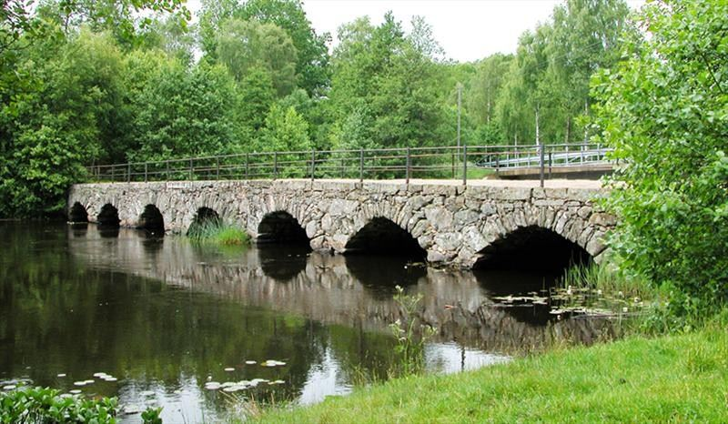 Svinaberga och Svinabergabron eller Bergagårdsbron