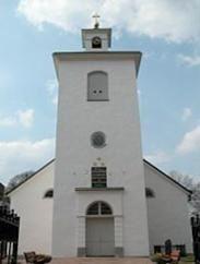 © Älmhults kommuns bildbank, Stenbrohults kyrka och kyrkstallar