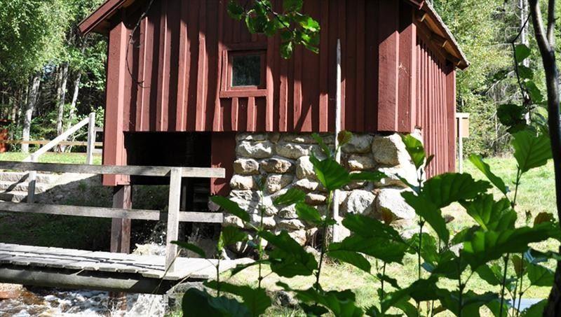 Die Wassermühle in Siggamåla