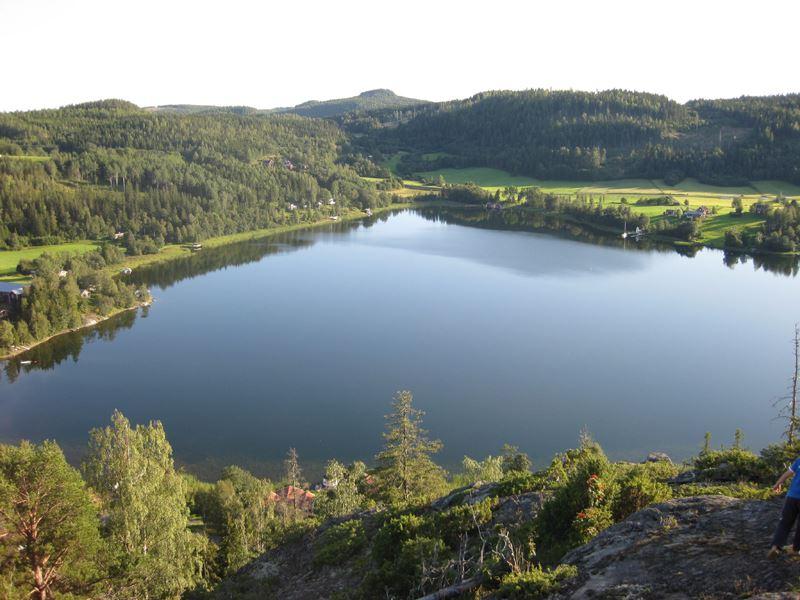 Foto: Bruno Sjölander, Utsikt från Krikberget som är ett av utsiktsbergen på leden Ön.