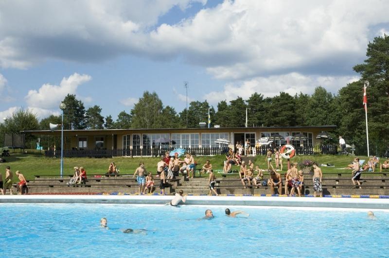 © Smålandsbilder, Kronoskogsbadet i Ljungby