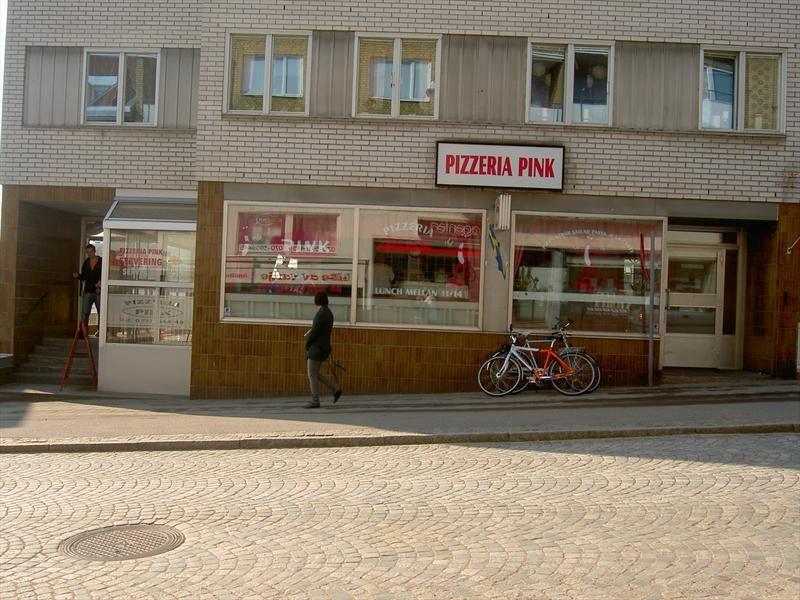 © Ljungby kommun turistbyrå, Pizzeria pink