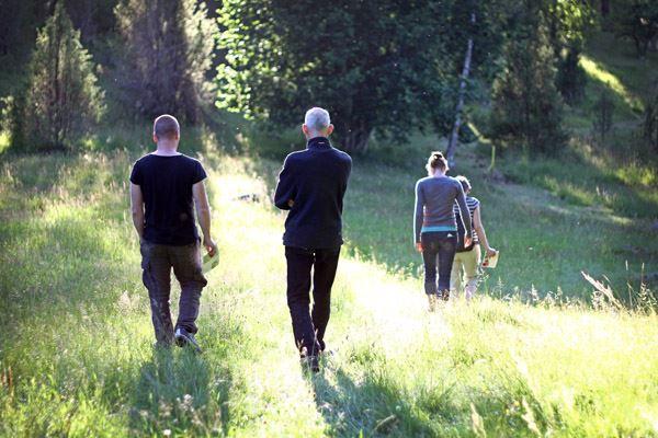 Emma Jansson, I Ingebo finns flera väl uppmärkta vandringsleder.