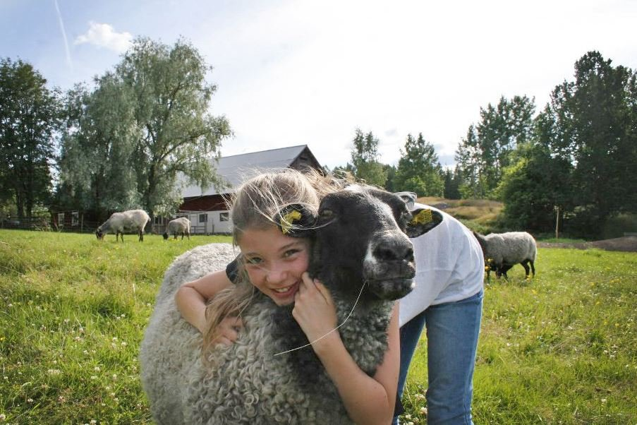 Emma Jansson, Hälsa gärna på gårdens djur.