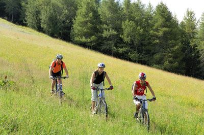 Multiactivity Mountain Pack: glacial walk, bike descent, adventure course