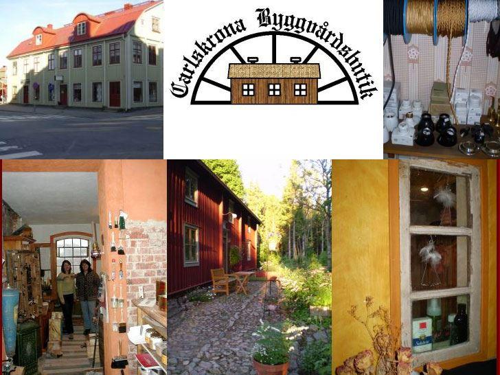 Carlskrona Byggvårdsbutik