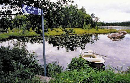 Leder och naturstigar i Gästrikland