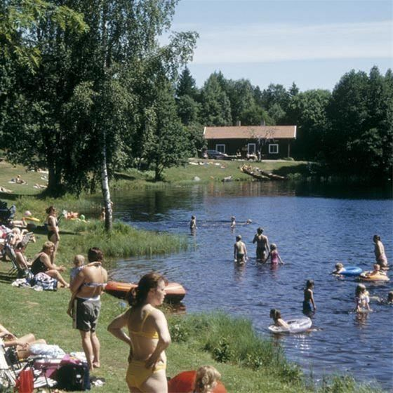 Summer in Högbo Bruk