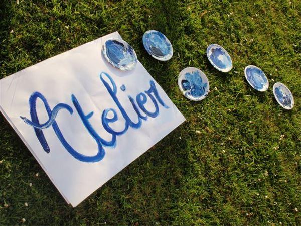 """Les p'tits ateliers """"Reflets et miroirs d'eau"""""""