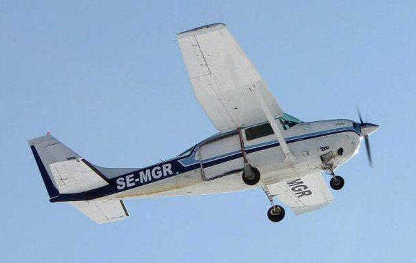 Vårat flygplan, SE-MGR