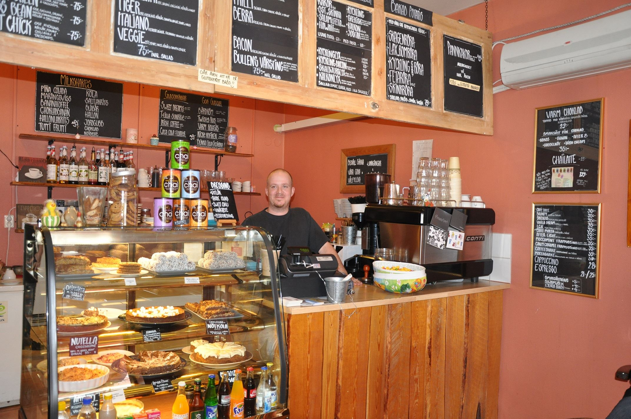 © visittomelilla.se, Bullen & Bönans Café