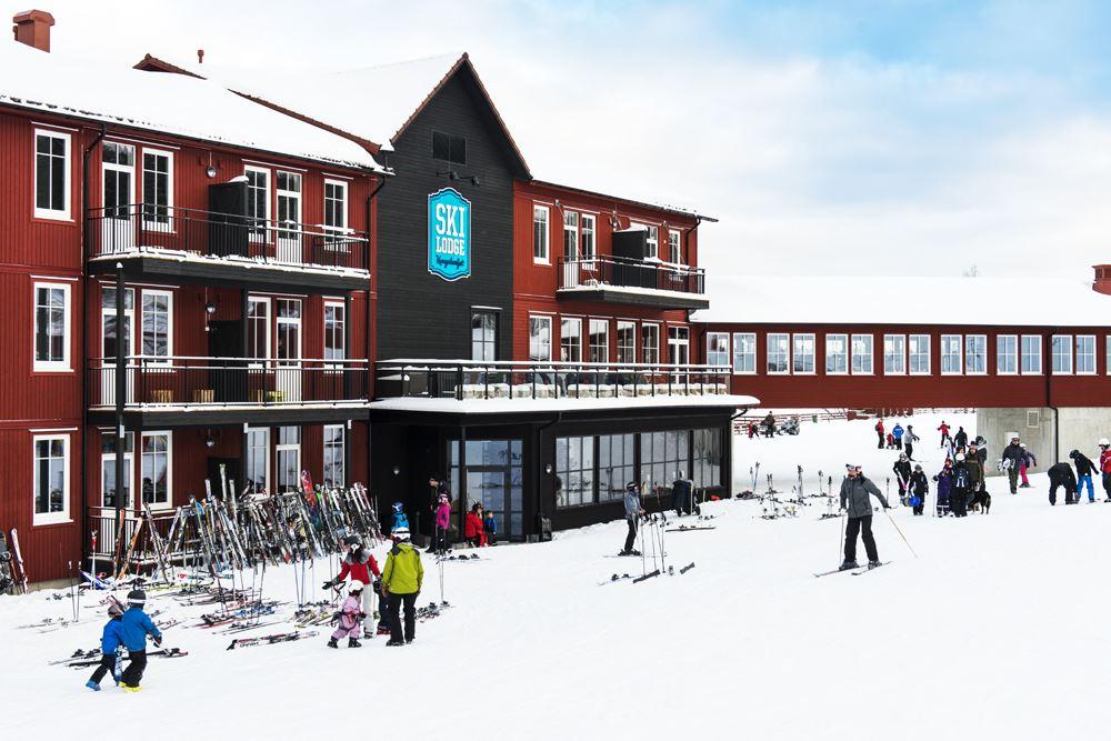 Skidåkning i Kungsberget