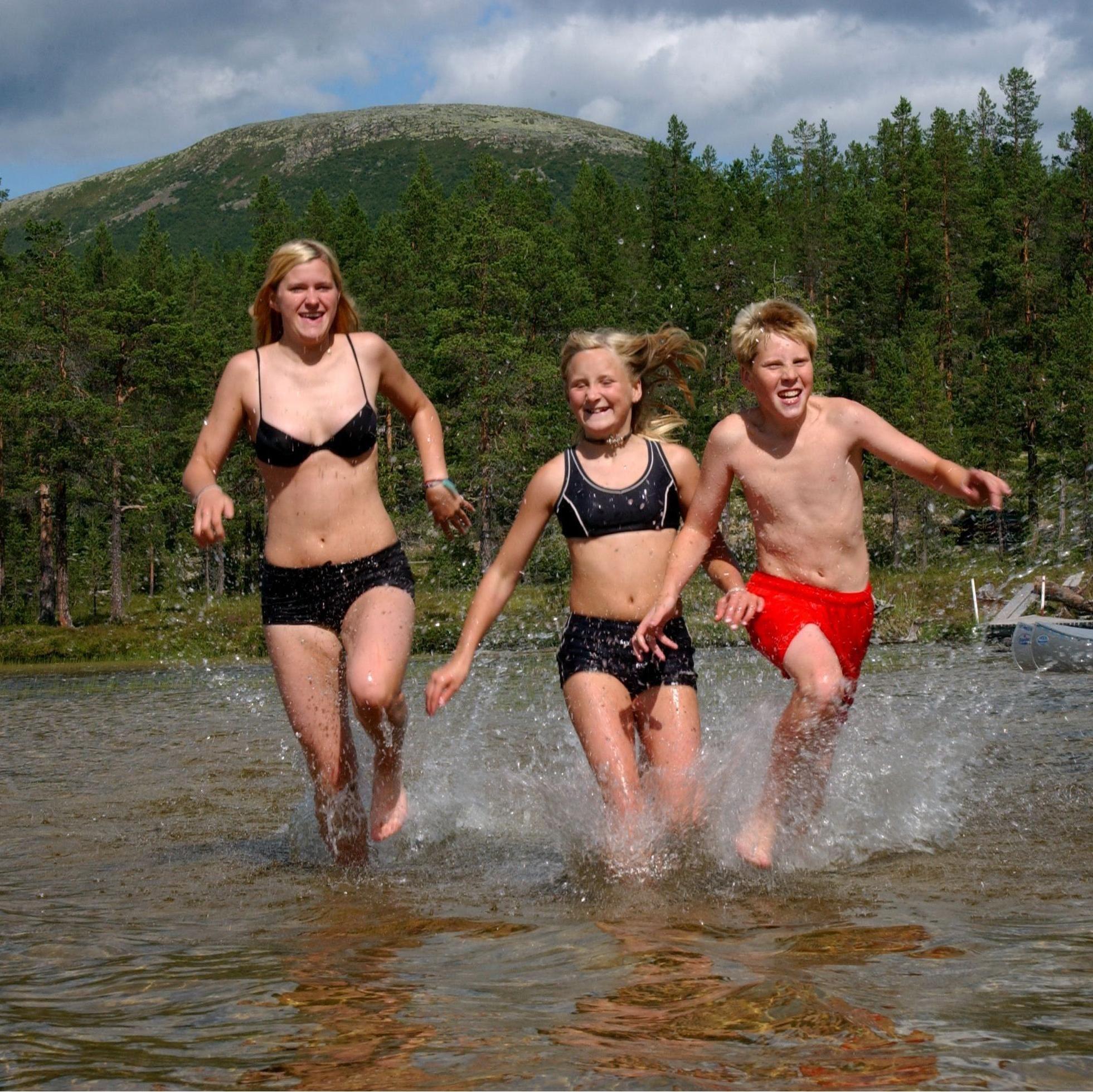 Badplats Burusjön